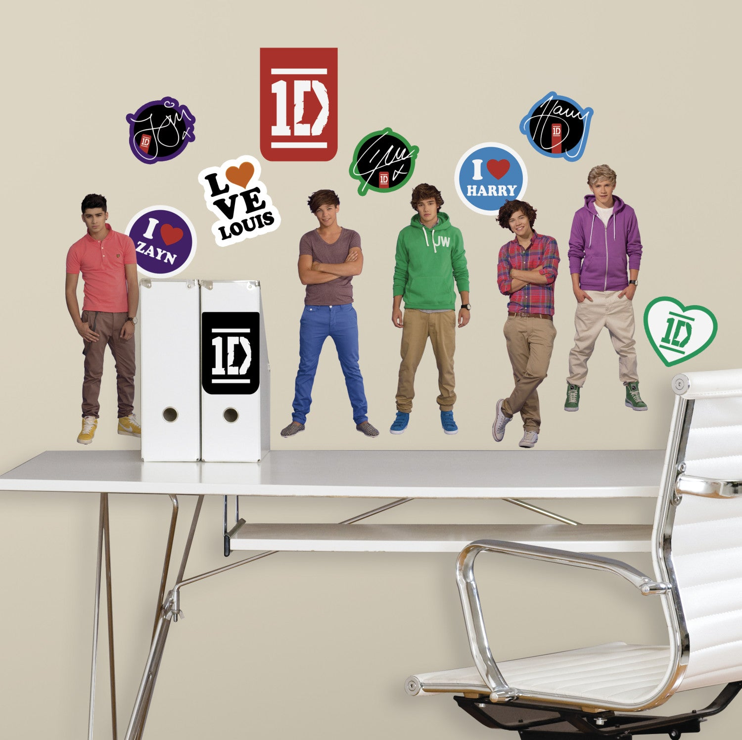 1 Direction Peel U0026 Stick Wall Decals