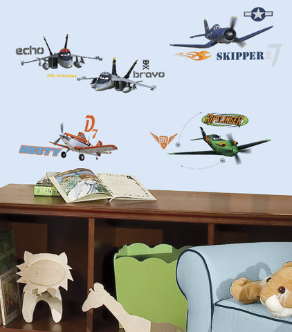 Planes Peel & Stick Wall Decals
