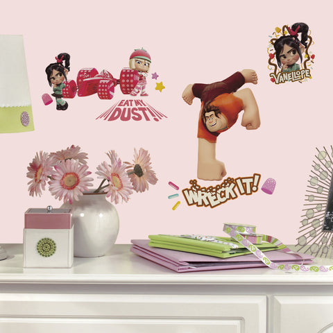Wreck it Ralph Peel & Stick Wall Decals