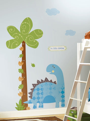 Babysaurus Peel & Stick METRIC Growth Chart image