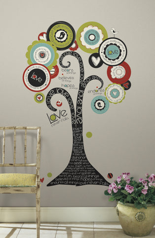 Tree of Hope Peel & Stick Giant Wall Decal image
