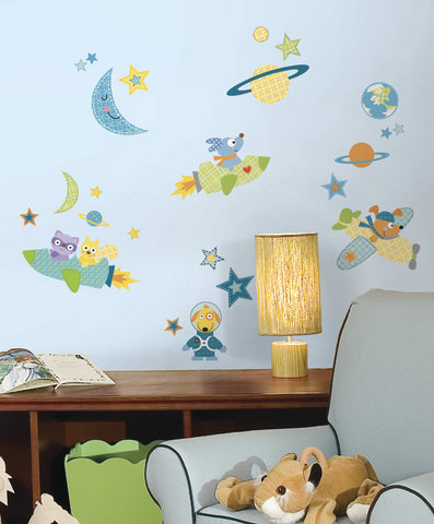 Rocket Dog Peel & Stick Wall Decals image