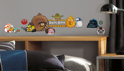 Angry Birds Star Wars Peel & Stick Wall Decals