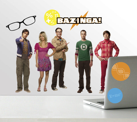 Big Bang Theory Peel & Stick Wall Decals