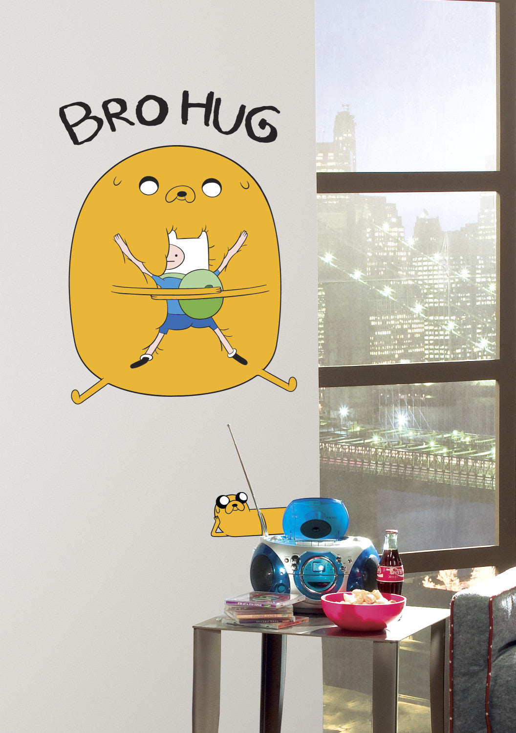 ADVENTURE TIME photo paper WALL STICKER WALL DECALS
