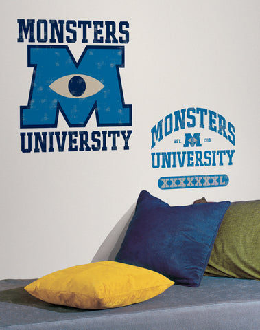 Monsters University Giant Peel & Stick Wall Decals