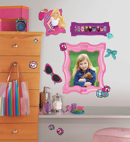 Barbie's Fabulous Frames Peel and Stick Giant Wall Decals