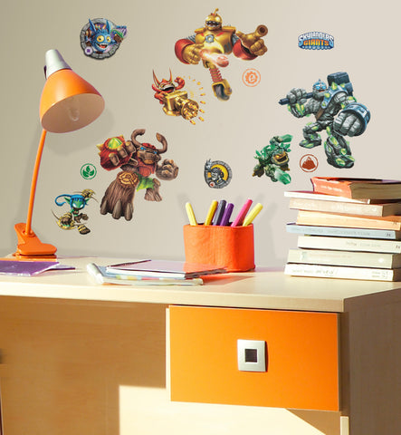 Skylanders Peel & Stick Wall Decals