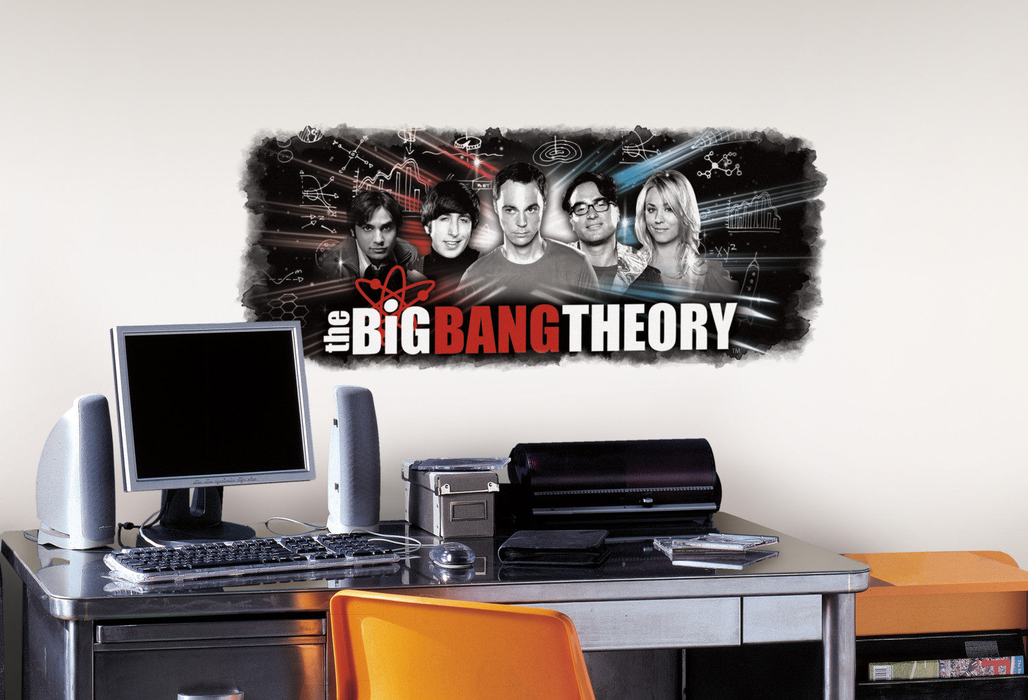 Big Bang Theory Wall Graphic Peel And Stick Giant Wall Decals