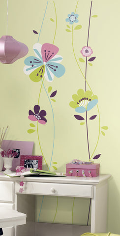 Sugar Blossom Peel and Stick Giant Wall Decals image