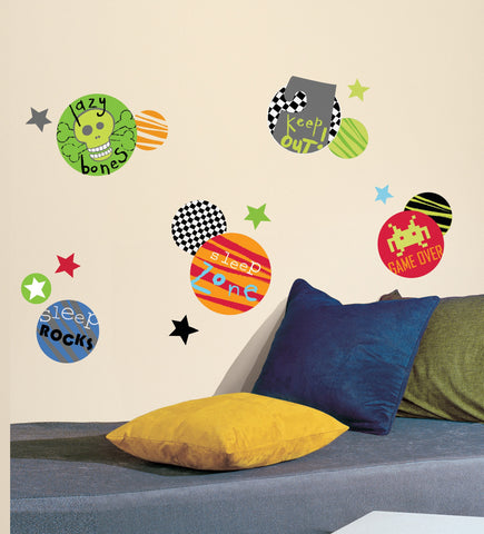 Boy Spots Peel and Stick Wall Decals image