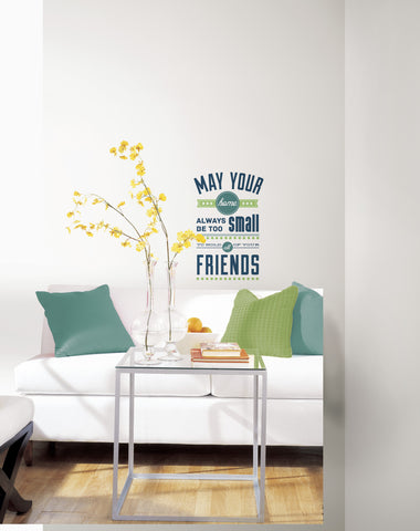 Room for Friends Peel and Stick Wall Decals image