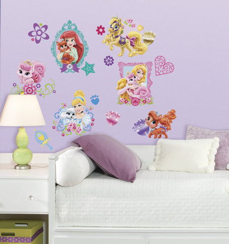 Disney Princess   Palace Pets Peel And Stick Wall Decals