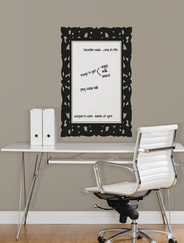 Ornate Frame Dry Erase Peel and Stick Wall Decals image