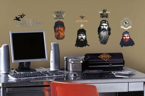 Duck Dynasty Peel and Stick Wall Decals