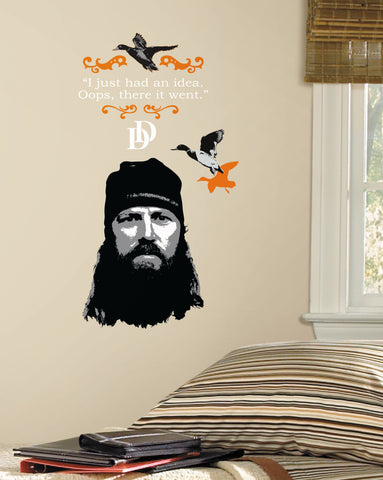 Duck Dynasty Jase Peel and Stick Giant Wall Decals