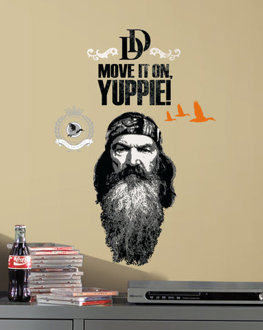 Duck Dynasty Phil Peel and Stick Giant Wall Decals