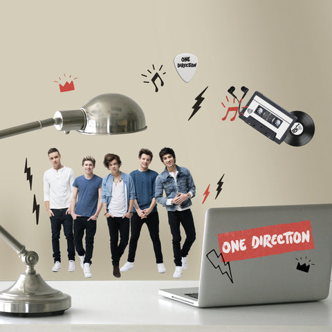 I Love ID One Direction Peel and Stick Wall Decals