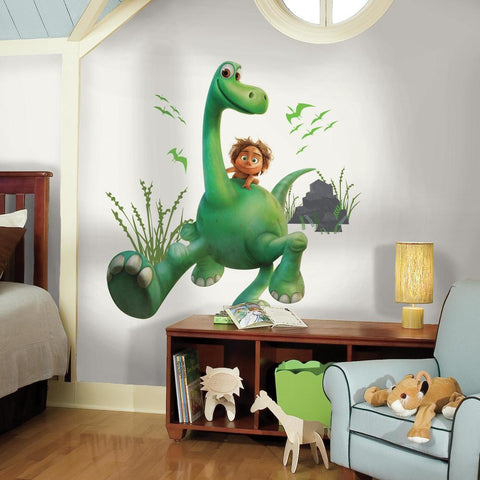THE GOOD DINOSAUR ARLO PEEL AND STICK GIANT WALL DECALS