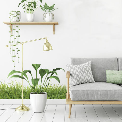 GRASS GIANT PEEL AND STICK GIANT WALL DECALS