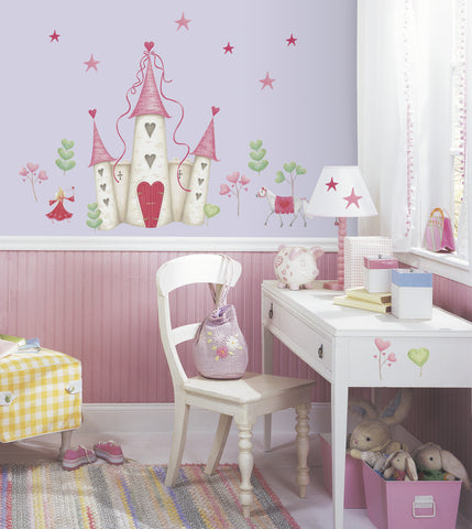 Princess Castle Peel & Stick Wall Decal                       image