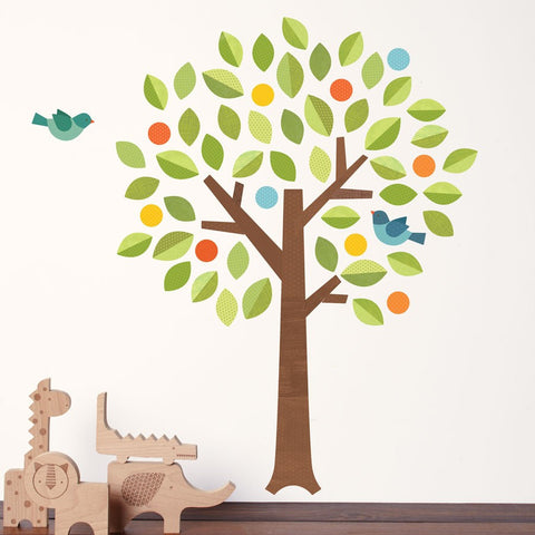 Polka Dot Tree Wall Decal