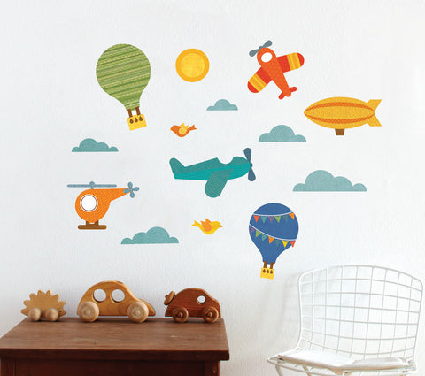 By Air Wall Decal