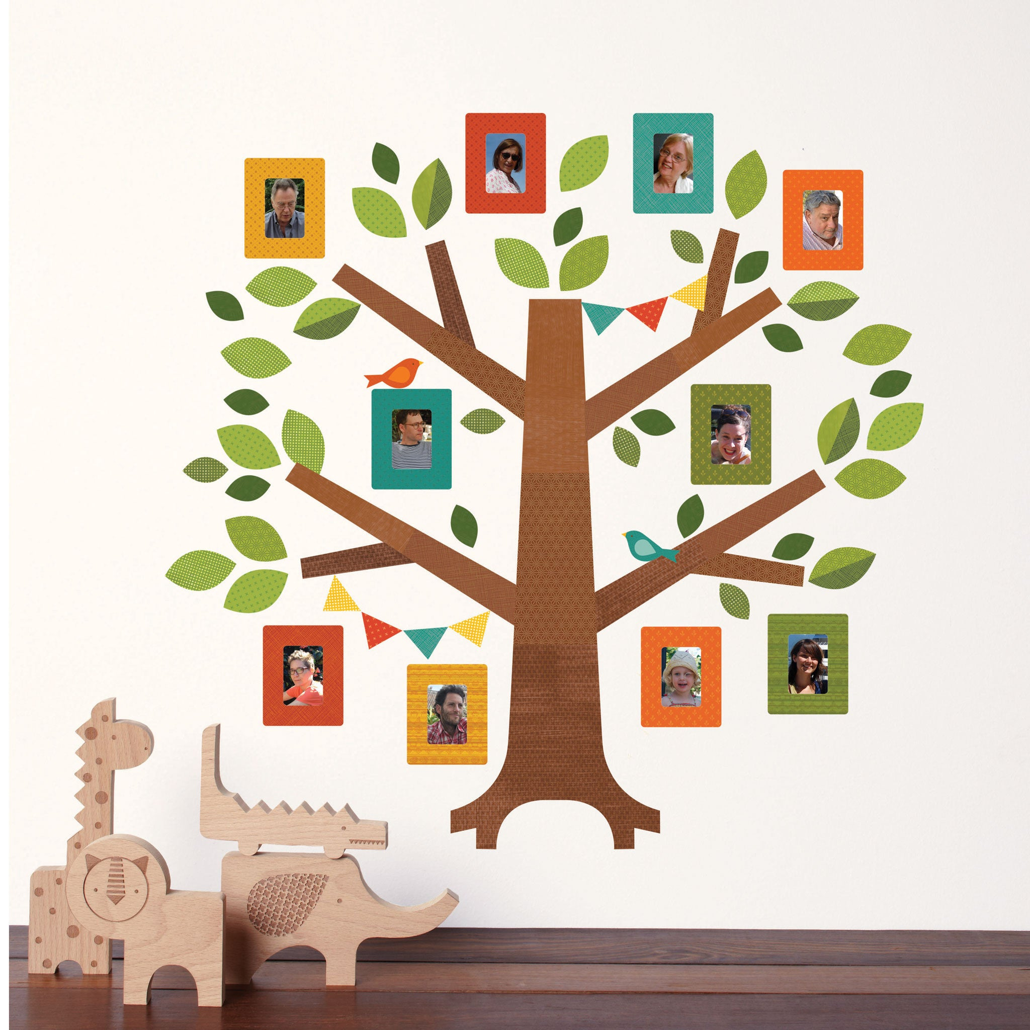 Family Tree Wall Decal Part 76