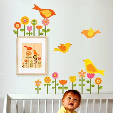 Garden Wall Decal