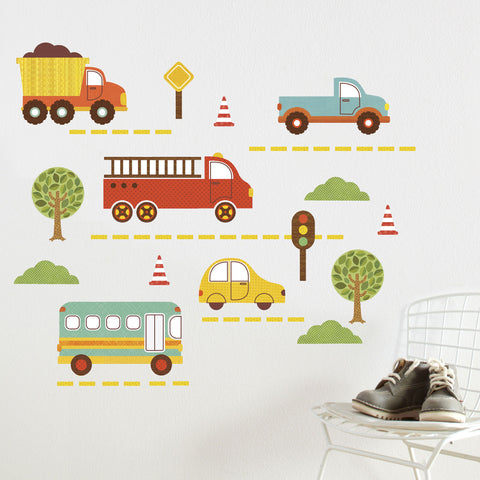 By Land Wall Decal