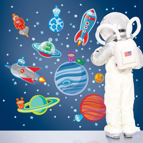 Happy Space Wall Decal