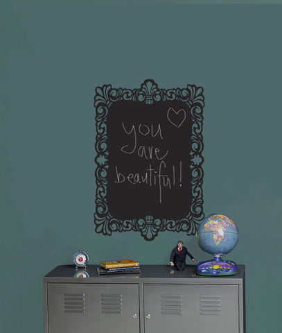 Chalk Frame Wall Decal