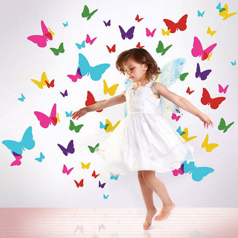 Flutterflies 2 Wall Decal