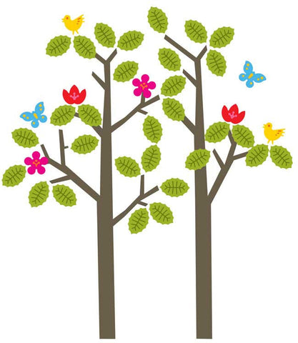 Seasons Tree Wall Decal