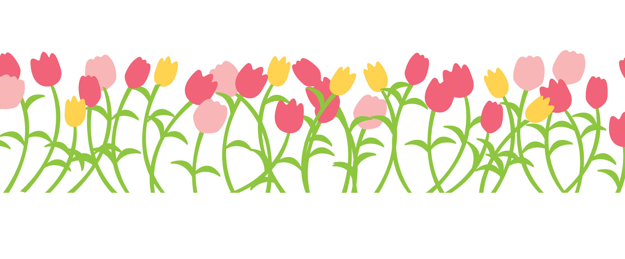 Tulip Wall Decal Walldecals Com