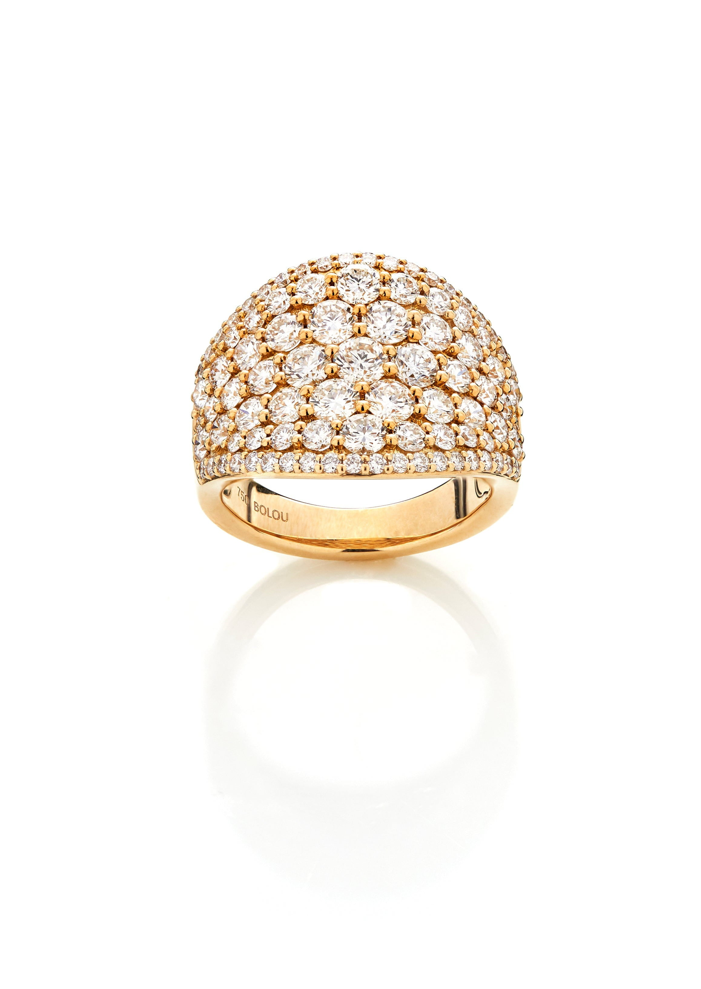 Boloucino Diamond Collection - Pave Ring