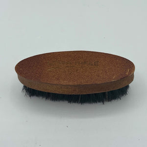Mini Natural Wood and Boar Bristle Beard Brush