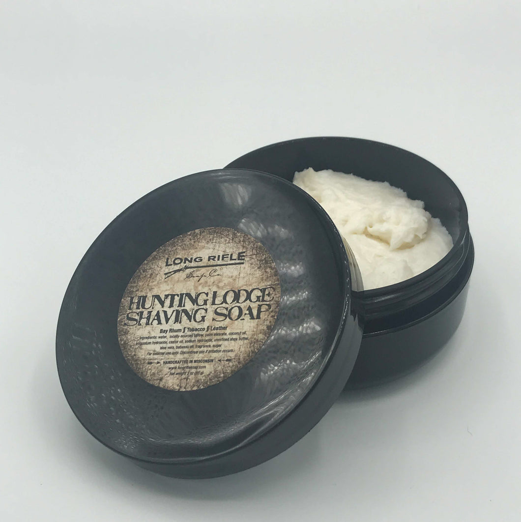 Hunting Lodge Container Pour Shaving Soap