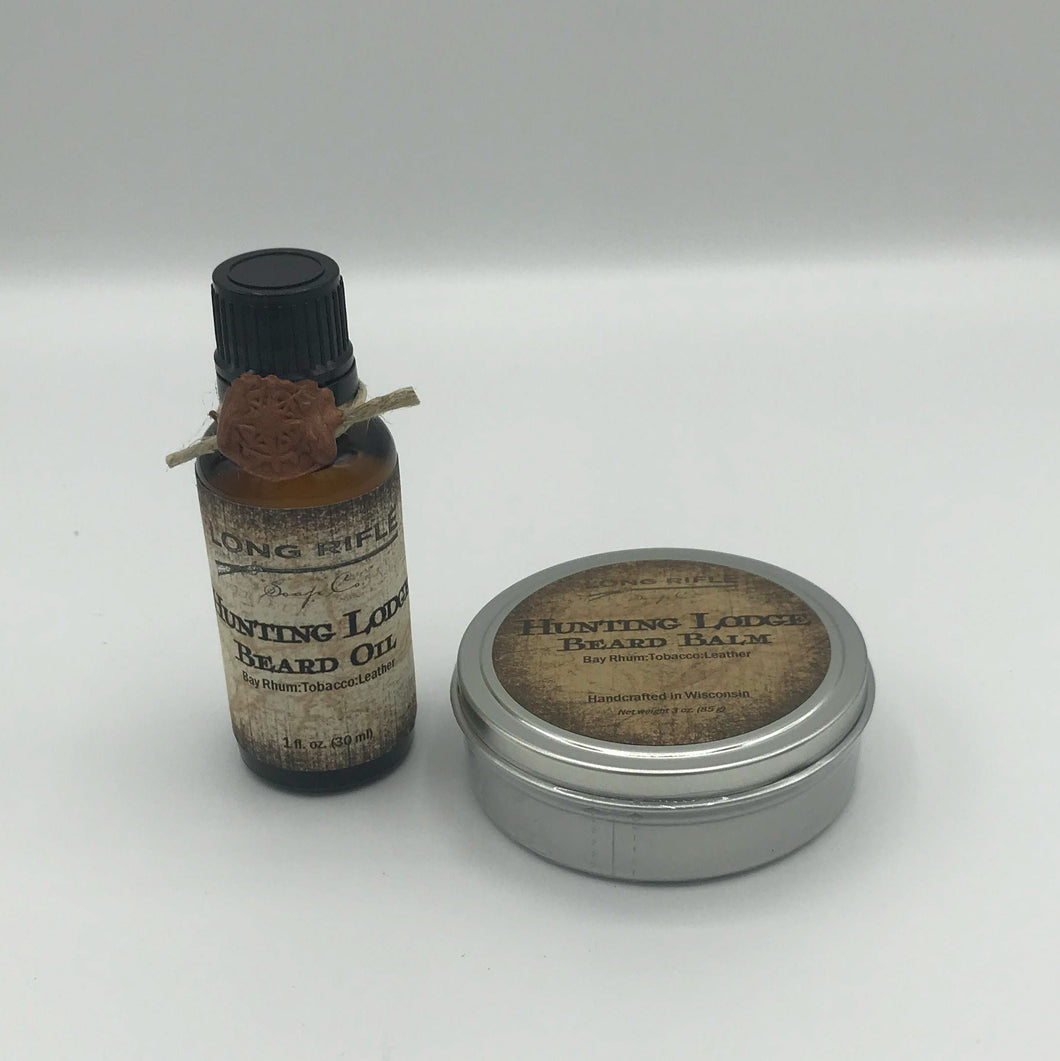 Beard Oil & Beard Balm Gift Set
