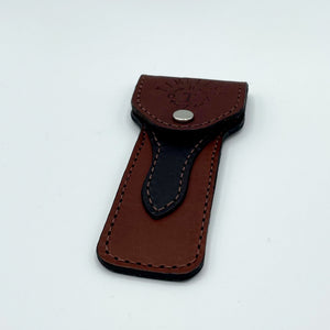 Timeless Razor Leather Safety Razor Pouch