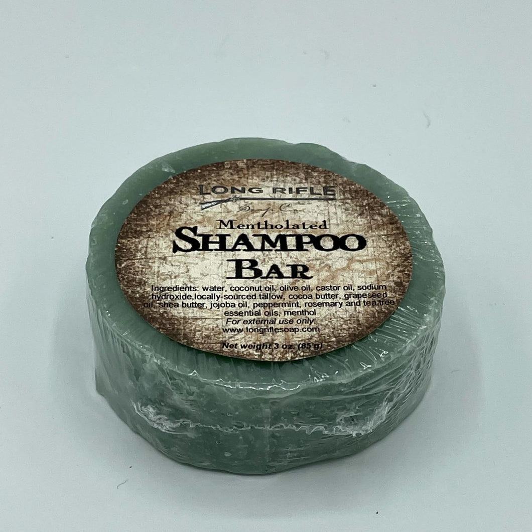 Mentholated Shampoo Bar