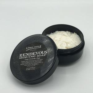 Rendezvous Container Shaving Soap