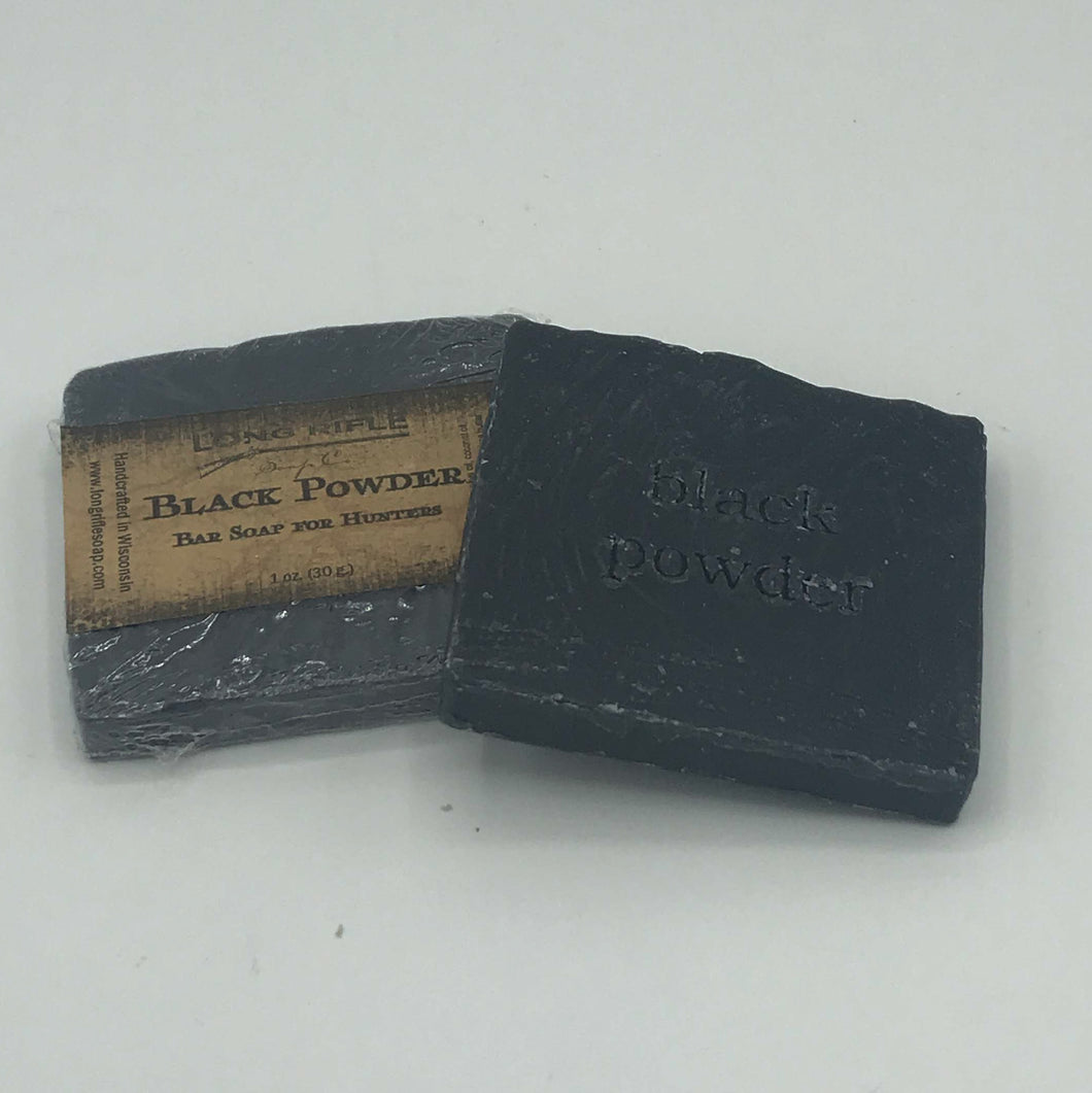 Black Powder Sampler Soap