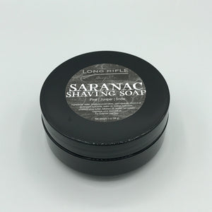 Saranac Container Shaving Soap