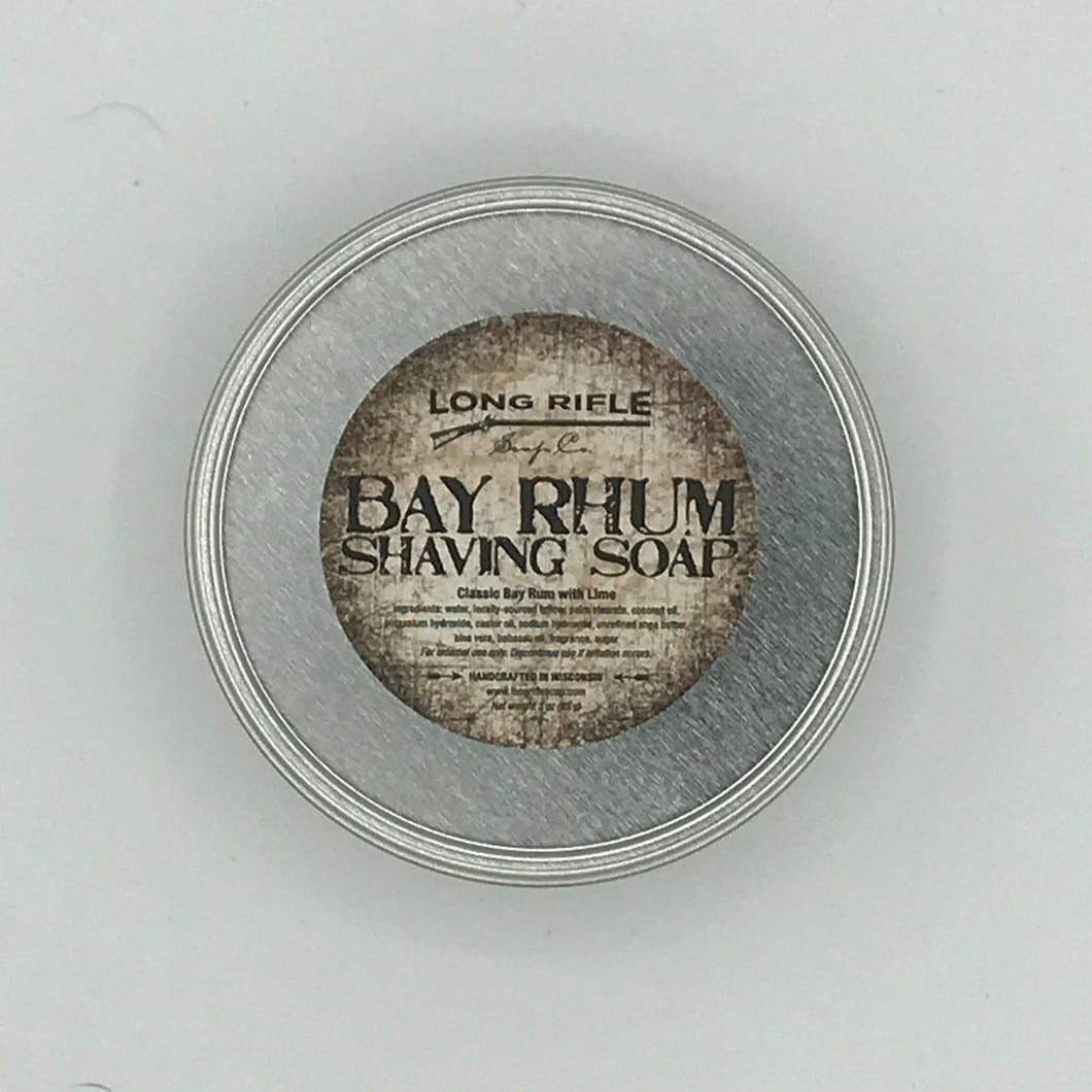 Bay Rhum Shaving Puck