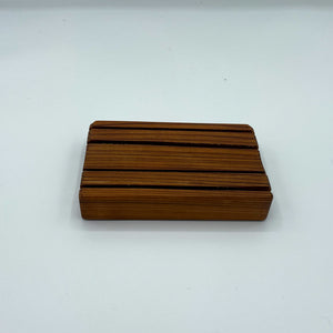 Cedar Soap Dish by MooseMTN Woodworks