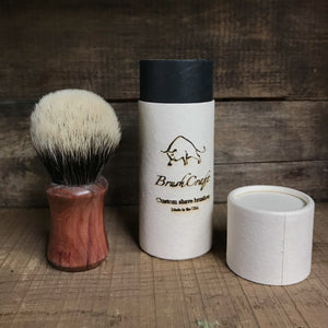 Brushcraft Cedarwood and Finest Badger Shaving Brush