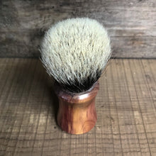 Load image into Gallery viewer, Brushcraft Cedarwood and Finest Badger Shaving Brush
