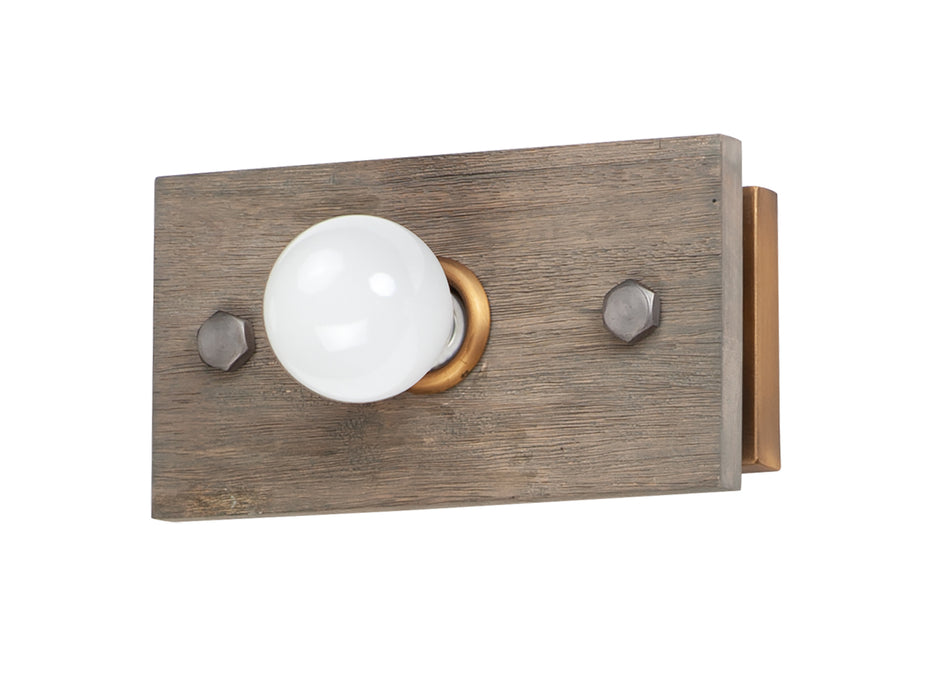 Plank 1-Light Wall Sconce