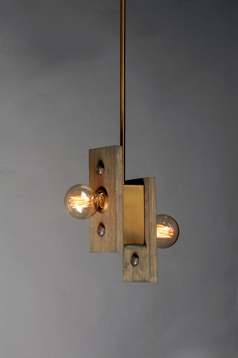 Plank 2-Light Pendant